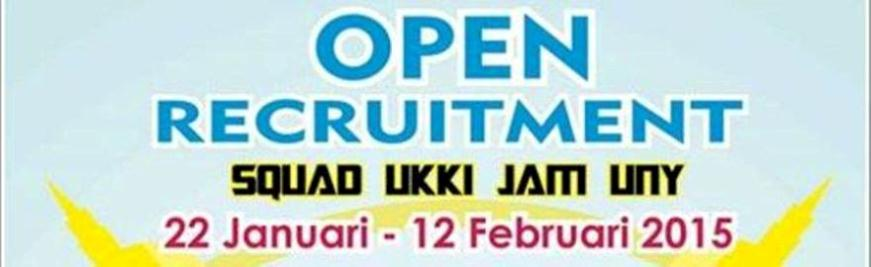 Open Recruitment UKKI 2015